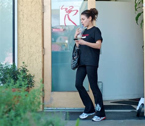 mila kunis pubis mila kunis leaving the gym in los angeles oh no they didn t