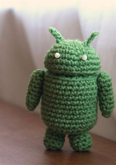 pattern in android android robot free amigurumi pattern