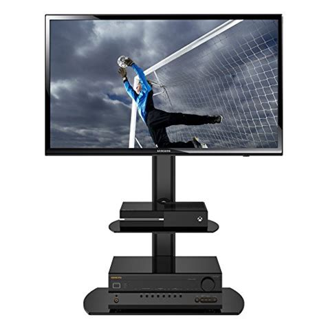 Samsung Tv Floor Stand With Shelf by Save 58 Fitueyes Swivel Floor Tv Stand With Mount And