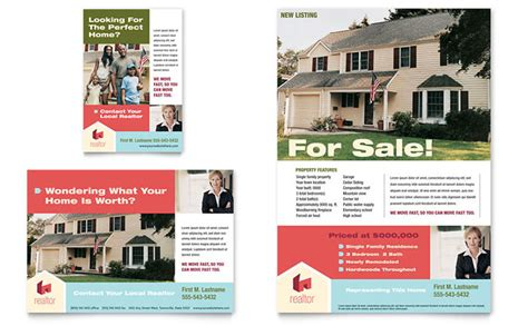 real estate advertising templates home real estate flyer ad template design