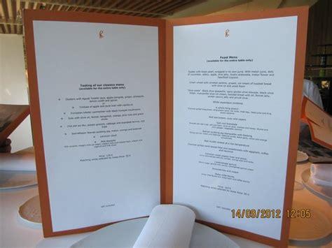 the menu picture of el celler de can roca girona tripadvisor the menu picture of el celler de can roca girona tripadvisor
