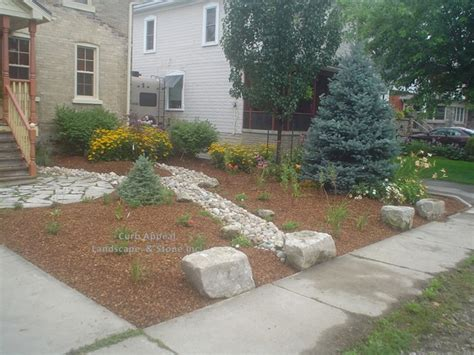 low maintenance front yards low maintenance front yard with river bed to handle