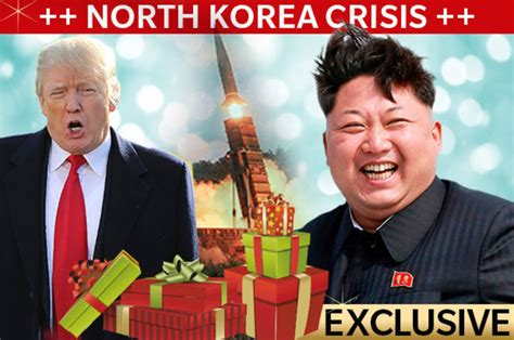 north korea news kim jong  missile today  christmas gift   daily star