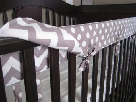 Reversible Crib Teething Rail Padded Front Cover By Baby Crib Rail Padding
