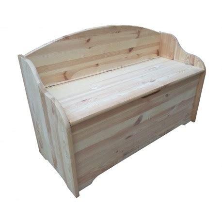 cassapanca con seduta cassapanca con schienale e seduta in legno naturale