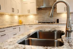 White Granite Kitchen Countertops Make Your Kitchen With Alaska White Granite Homestylediary