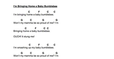 the show me librarian baby bumblebee for the ukulele