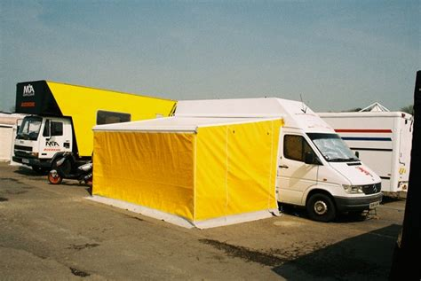 Vehicle Awnings Uk by Roof And All Sides Adgey Awnings Shutters