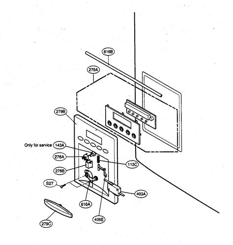 kenmore elite parts dispenser parts diagram parts list for model 79575542401 kenmore elite parts refrigerator