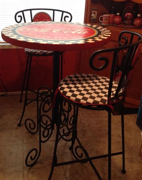 Coca Cola Table And Stools by 93 Best Images About 23 Coke Tables Chairs On
