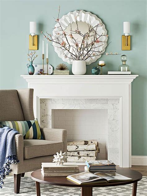 living room mantel ideas creative ideas for your mantel living room color schemes