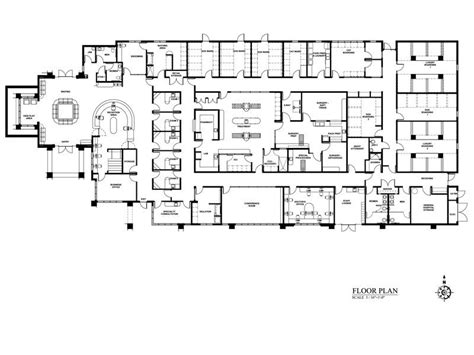 Floor Plan Of Hospital | hospital planning regional hospital planning regional