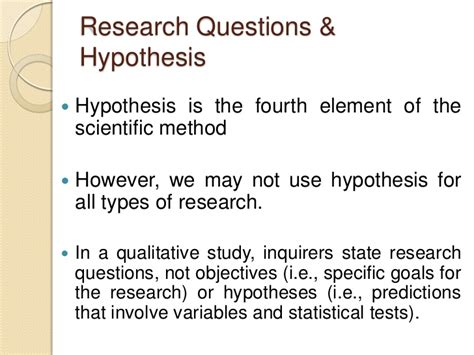 hypothesis of the study thesis 7 steps to writing research questions hypotheses