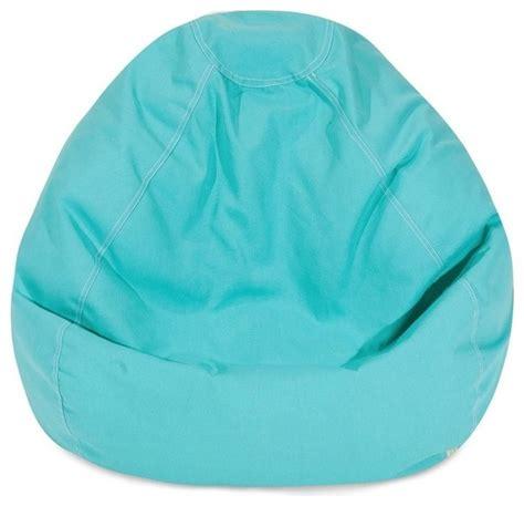 classic bean bag teal midcentury bean bag chairs by