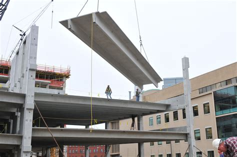 The Parking Garage by Parking Structure Options Precast Vs Cast In Place