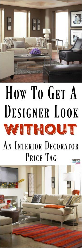 how to get a designer look without the interior decorator