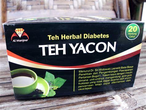 Teh Daun Yakon teh yakon teh herbal diabetes toko almishbah