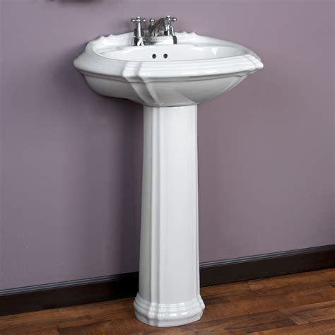 pedestal sink bathroom regent pedestal sink