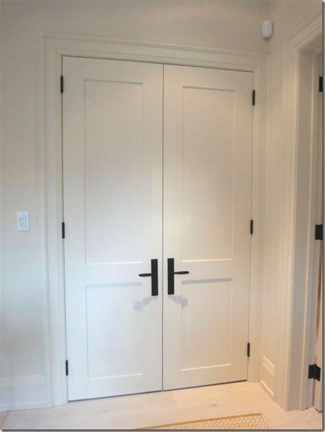 Easy Closet Doors Simple Shaker Interior Doors I Want These Doors On My Next House Decor Pinterest Shaker