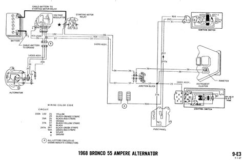 1968 bronco wiring diagrams ford truck fanatics