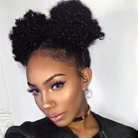 Two Buns Hairstyle Hair Black by Hairstyles Hergivenhair