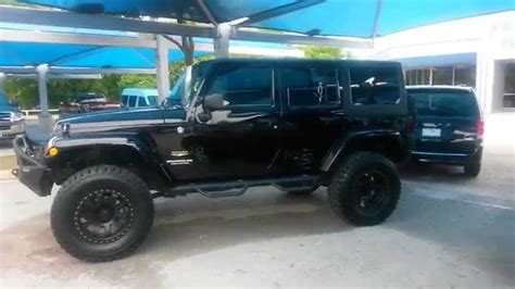out jeep 33 991 out lifted black 2013 jeep wrangler
