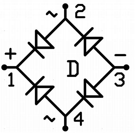 Alternator Bridge Rectifier Symbol