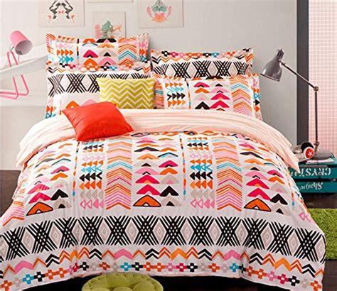 tribal bedding cliab tribal bedding for teens aztec bedding exotic orange red black duvet cover set