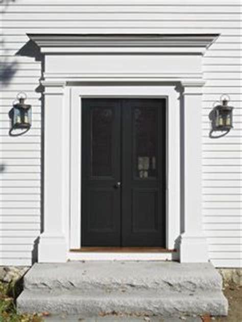Door Surrounds Exterior Front Door Surround On Black Doors Front Doors And Front Entry