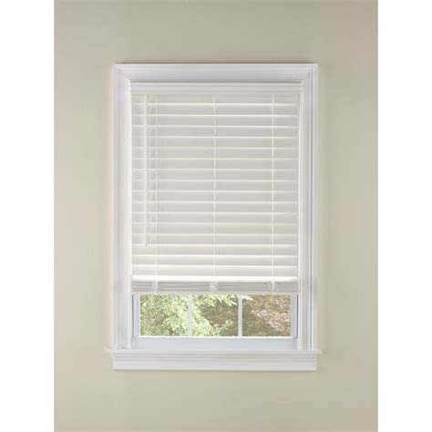 Cordless Wood Blinds Shop Custom Size Now By Levolor 2 In Cordless White Faux