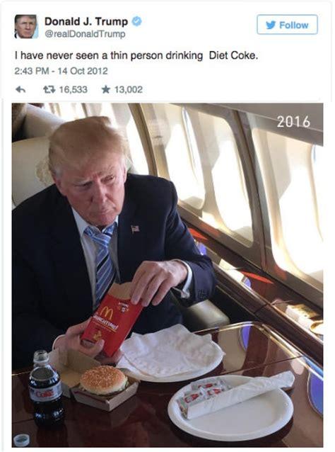 Donald Trump Diet | donald trump on diet coke