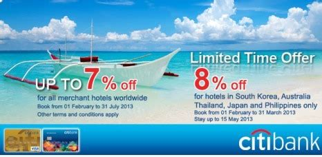 agoda citibank citibank and agoda travel deals philippine contests and