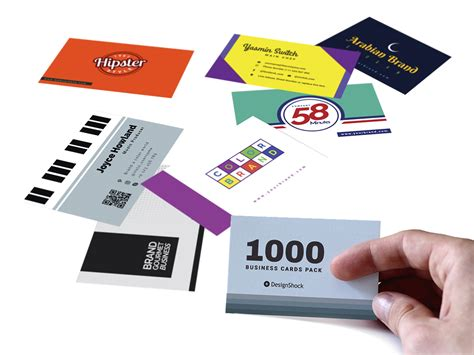 Business Card Template Pack follow us