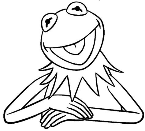 kermit coloring pages coloring pages ideas
