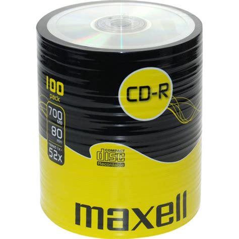 Maxell Cd R 52x 55pcs cd r maxell 52x 700mb 80m sh 100 pack dvd pt