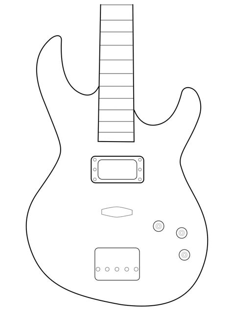 electric guitar templates index of cdn 4 1990 692
