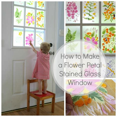 flower petal stained glass door a flower craft