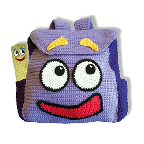 explorer backpack pattern ravelry dora the explorer backpack and map pattern by