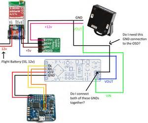 naze32 minimosd 12v d4r ii is my wiring correct rc groups