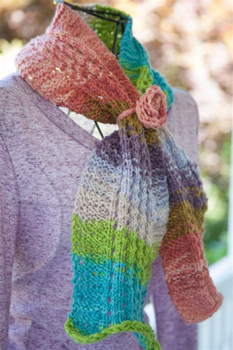 knitting pattern eyelet scarf loom knit eyelet ripple scarf pattern this moment is good
