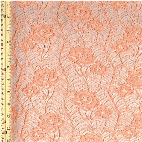 lace curtains by the yard peach papaya grow design lace fabric by the yard for bridal
