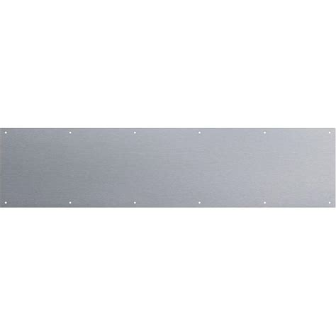 Stainless Steel Plate Home Depot by National Hardware 8 In X 34 In Stainless Steel Kick