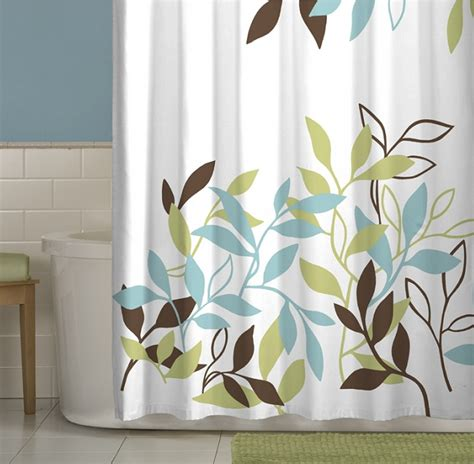 leaves shower curtain maytex leaf shower curtain for the home pinterest