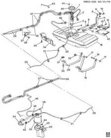 Gm Buick Parts Fuel Supply System