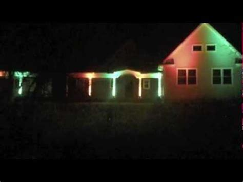 christmas lights show on woolley rd in wall nj youtube
