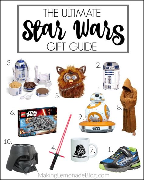 gifts for wars fans the wars gift guide for fans of all ages