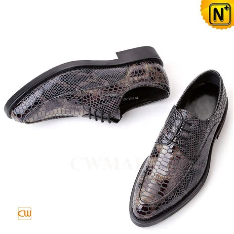 printed oxford shoes mens print leather dress shoes cw751157