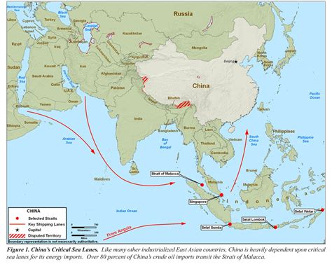 asia sea map power of the s republic of china 2098 maps