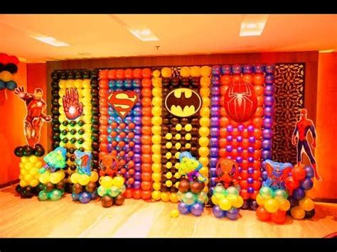 gmail themes avengers avengers themed birthday party youtube