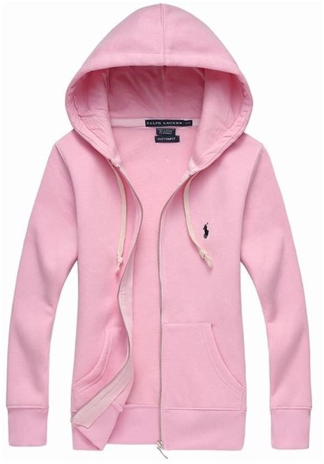 Hoodie Pink Polos ralph polo zip hoodie pink wmns product3812